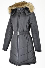 Daisy's Fashions Coat With Detachable Hood - Product Mini Image