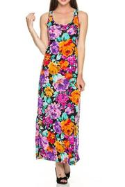 Daisy's Fashions Floral Maxi Dress - Product Mini Image