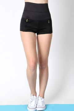 Daisy's Fashions Hi Waist Mini Shorts - Product List Image