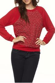 Daisy's Fashions Honeycomb Sweater - Product Mini Image