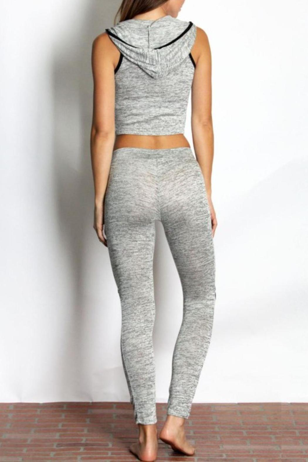 Daisy's Fashions Hoodie Jogger Set - Front Full Image