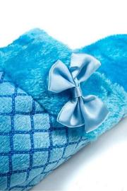 Daisy's Fashions Lounge Slipper Blue - Side cropped