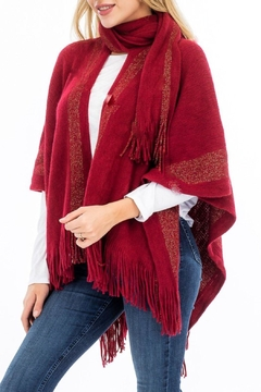 Daisy's Fashions Scarf Poncho - Product List Image