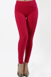Daisy's Fashions Stretch Leggings - Front cropped