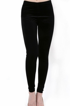 Daisy's Fashions Velvet Leggings - Product List Image
