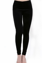 Daisy's Fashions Velvet Leggings - Product Mini Image