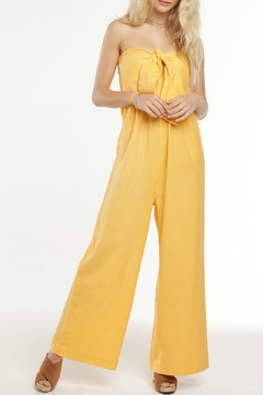 Patrons of Peace Daisy Strapless Jumpsuit - Product List Image