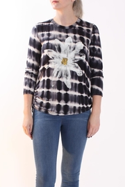 Talk of the Walk Daisy Tie-Dye Tee - Front cropped