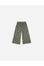 Rylee & Cru Daisy Wide Leg Pant - Fern - Front cropped