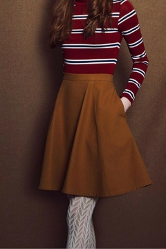 Meemoza Daisy Wool Skirt - Product List Image
