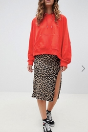 Daisy Street Dallas Leopard  Skirt - Product Mini Image
