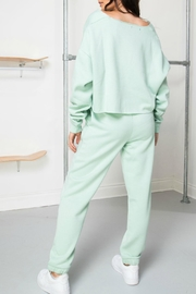 Daisy Street Mint Soleil Joggers - Back cropped