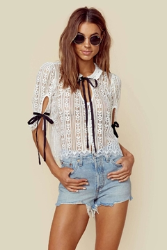 Shoptiques Product: Dakota Lace Blouse