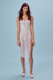 FOR LOVE & LEMONS Lace Midi Dress - Product Mini Image