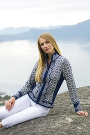 Dale of Norway Christiania Cardigan - Front full body