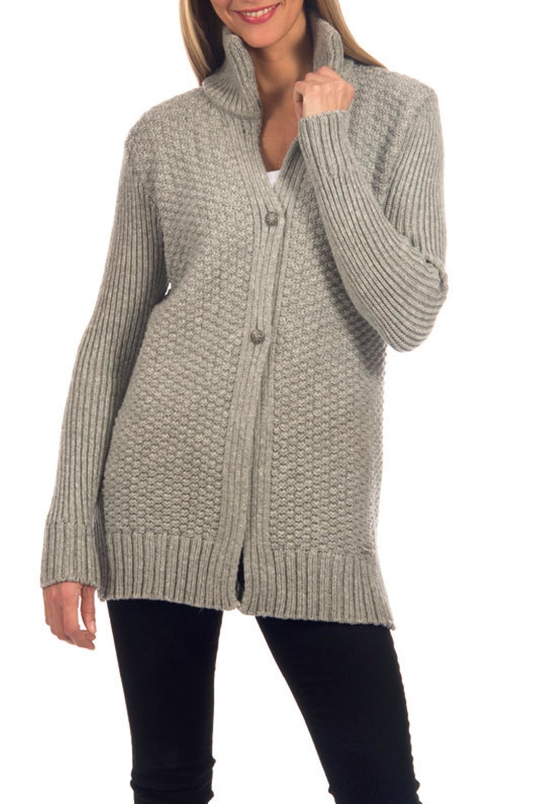Dale of Norway Gudrun Textured Cardigan - Front Cropped Image