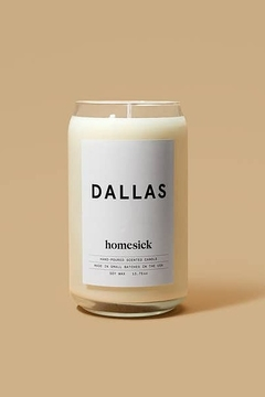 HOMESICK Dallas Candle - Alternate List Image