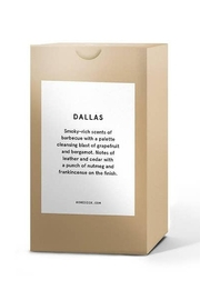 HOMESICK Dallas Candle - Front full body