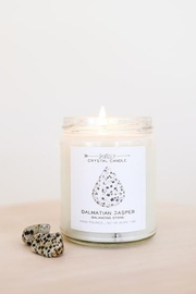 JaxKelly Dalmatian Jasper Crystal Candle - Product Mini Image