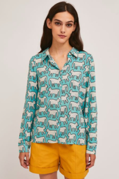 Compania Fantastica Dalmation Print Shirt - Product List Image