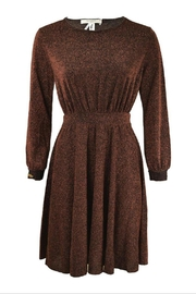 Dame Blanche Anvers Bronze Glitter Dress - Product Mini Image