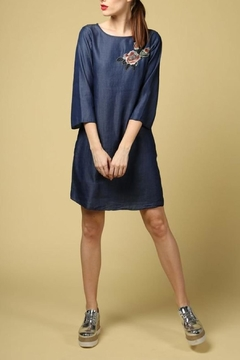 Dame Blanche Anvers Elegant Jeans Dress - Product List Image