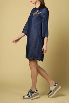 Dame Blanche Anvers Elegant Jeans Dress - Alternate List Image