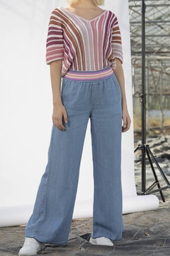Dame Blanche Anvers Flared Denim Pants - Product List Image