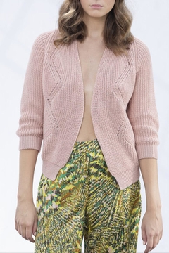 Dame Blanche Anvers Sweet Pink Cardigan - Product List Image