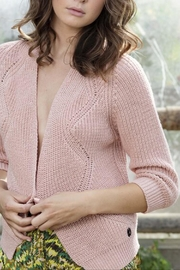Dame Blanche Anvers Sweet Pink Cardigan - Front full body