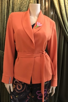 Dame Blanche Anvers Terracotta Orange Jacket - Product List Image