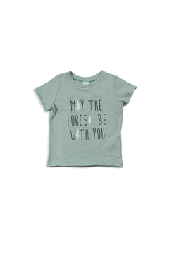 Shoptiques Product: Damian Graphic Tee in Sage
