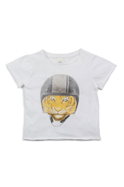 Egg  by Susan Lazar Damien Graphic Tee - Front cropped