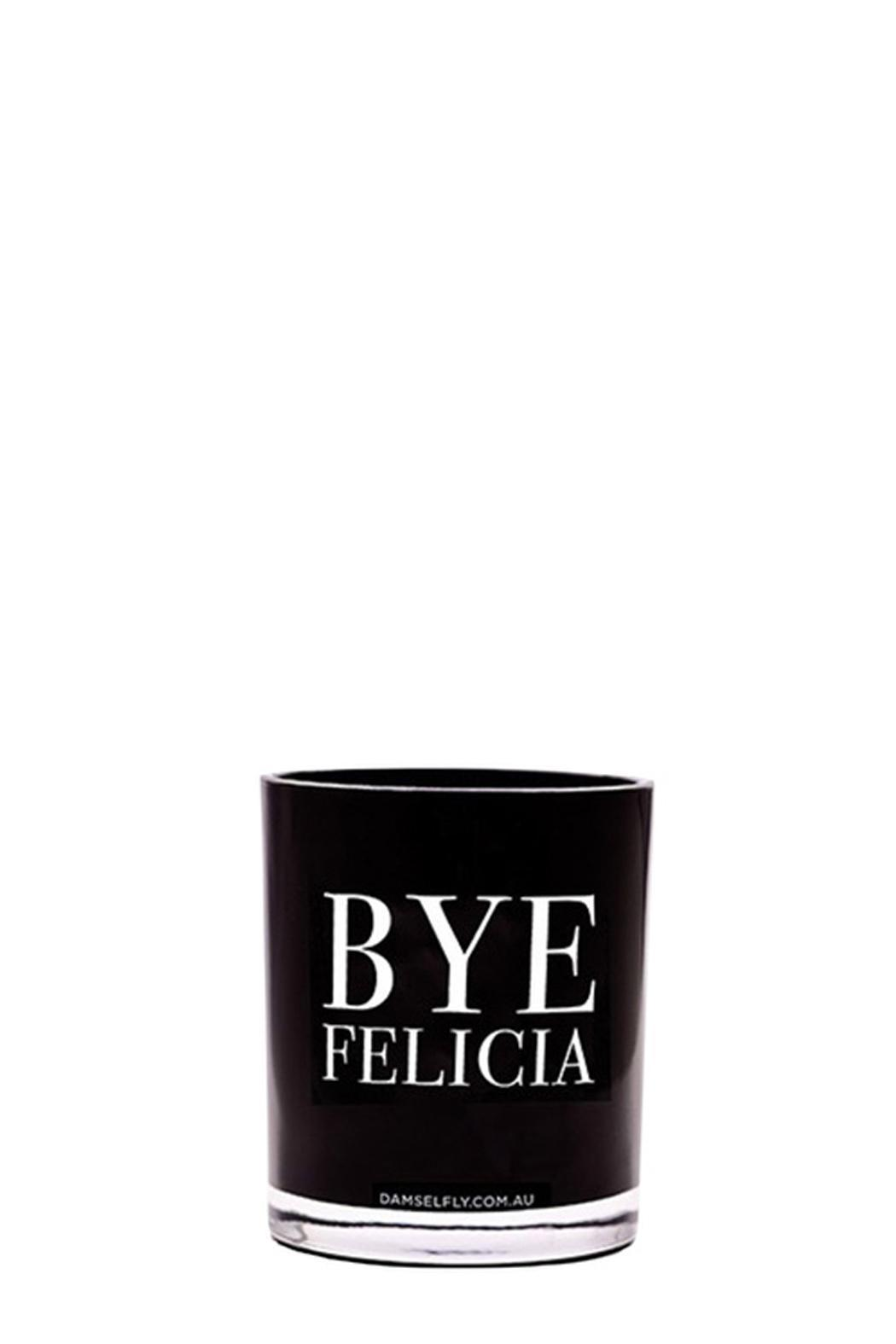 Damselfly Bye Felicia Candle - Front Cropped Image