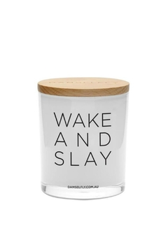 Damselfly Wake And Slay Candle - Product List Image