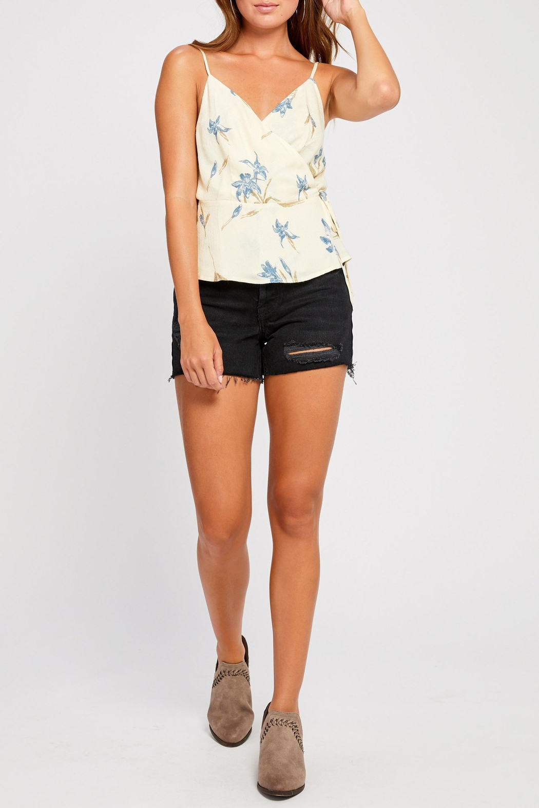 Gentle Fawn Dana Wrap Top - Front Full Image