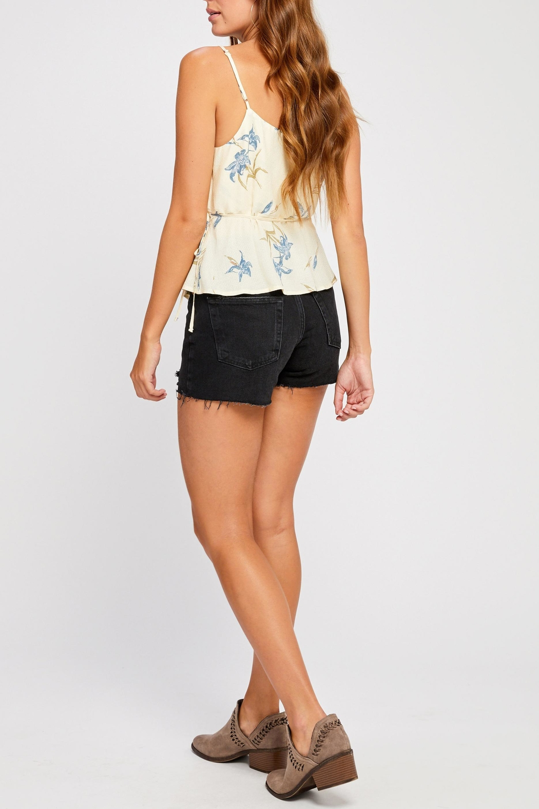Gentle Fawn Dana Wrap Top - Back Cropped Image