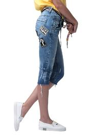Shoptiques Product: 80s Peace Jeanse - Front full body