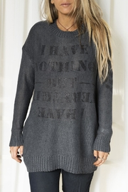 Dana Ashkenazi Everything Sweater - Product Mini Image