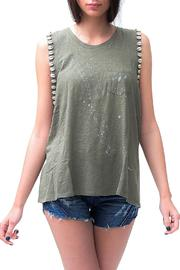 Dana Ashkenazi Gene Top Olive - Product Mini Image