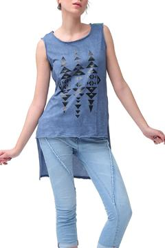 Shoptiques Product: Geo Top Blue