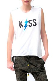 Shoptiques Product: Kiss Top - Front full body