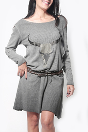 Dana Ashkenazi Nescafe Dress Grey - Product Mini Image