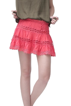 Shoptiques Product: Romba Skirt Coral