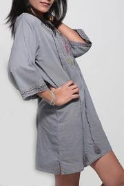 Dana Ashkenazi Short Fable  Grey Dress - Front full body
