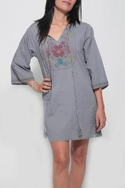 Dana Ashkenazi Short Fable  Grey Dress - Product Mini Image