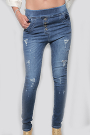 Dana Ashkenazi Skinny Regular Pants - Front cropped