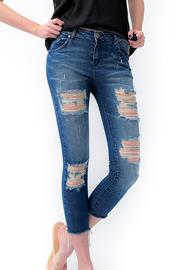 Dana Ashkenazi Tv  Distressed Jeans - Product Mini Image