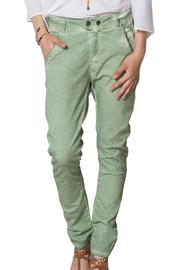 Dana Ashkenazi Valley Green Pants - Product Mini Image
