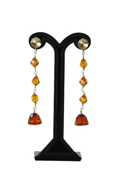 Shoptiques Product: Bell Swarovski Earrings
